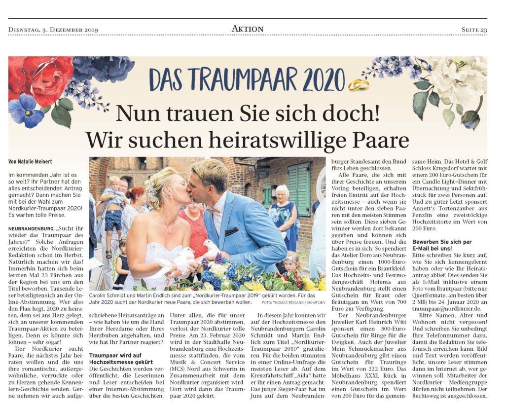 NK_NeubrandenburgerZeitungStargard_03.12.2019 Seite 23