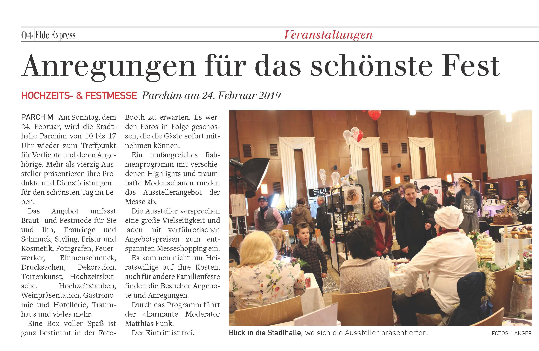 Hochzeitsmesse Schwerin