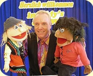 Bauchredner Eddy und seine Puppen