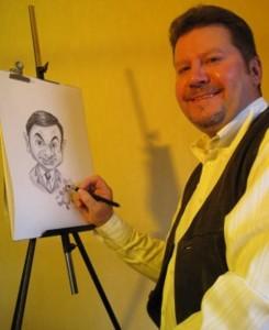 Portraitzeichner Olli